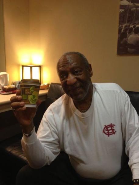 Bill Cosby at Los Gatos Roasting Company, a local coffeehouse in CA