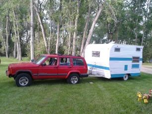 Jeep & Caravan Trailer