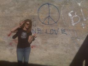 Some graffiti is good :)