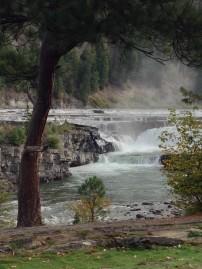 Powerful and gorgeous Kootenai Falls