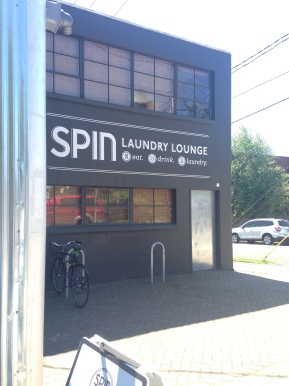 SPIN Laundry Lounge exterior shot
